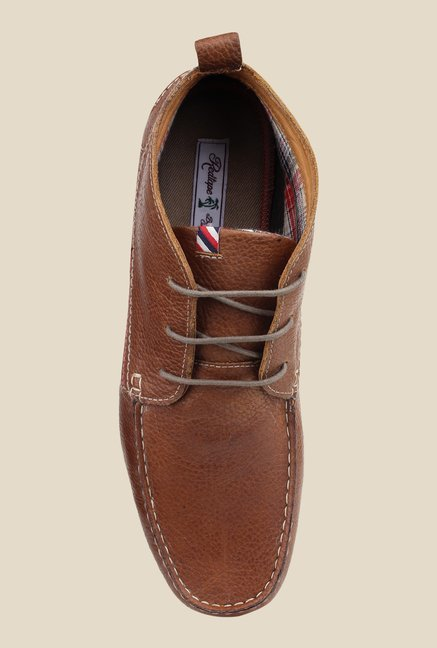 Red Tape Tan Chukka Boots