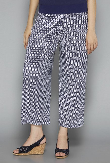 Gia by Westside Navy Printed Palazzos