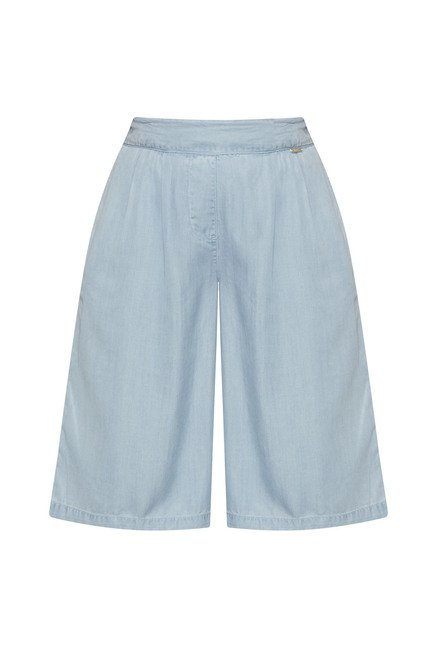 LOV by Westside Light Blue Ebony Culottes