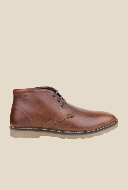 Red Tape Brown Chukka Boots