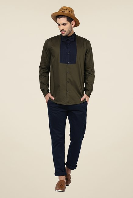 Yepme Olive Bert Party Shirt