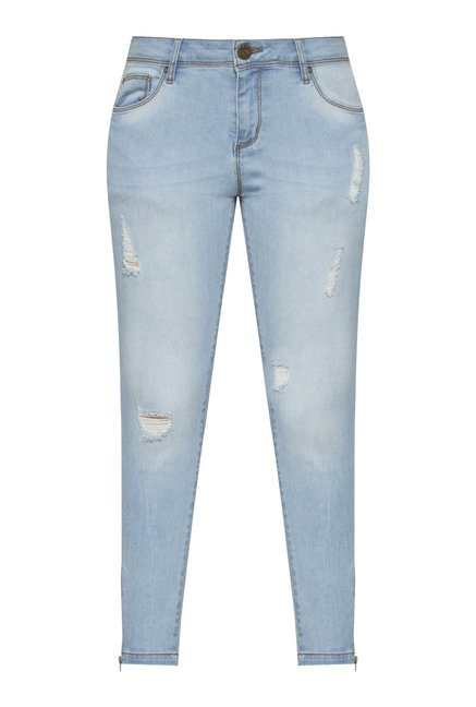 LOV by Westside Blue Slim Fit Jeans