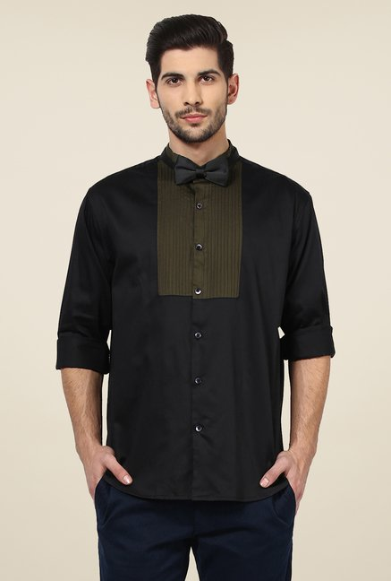 Yepme Black Adler Party Shirt