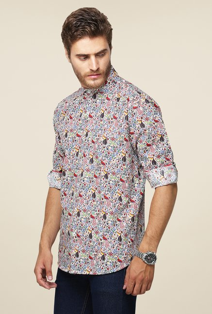 Yepme Multicolor Erin Printed Shirt