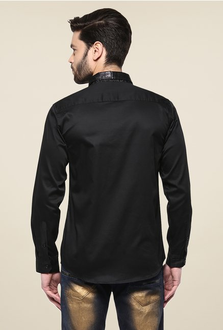 Yepme Black Asher Party Shirt