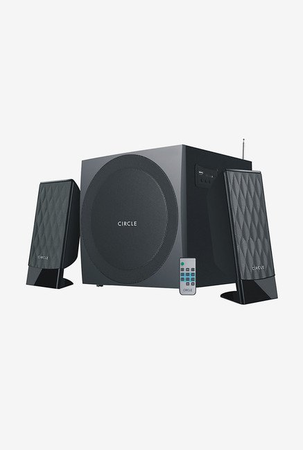 Circle CT 360RC 2.1 Channel 48W Multimedia Speaker (Black)