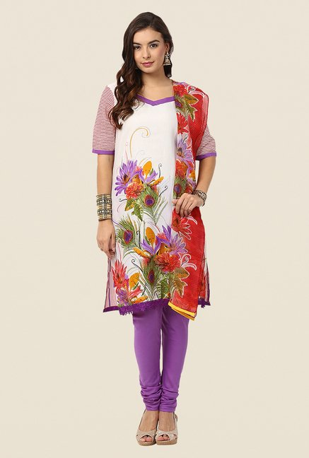 Yepme Purple Lois Salwar Suit Set