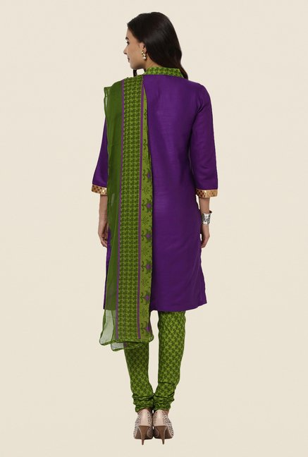 Yepme Purple Phobie Salwar Suit Set