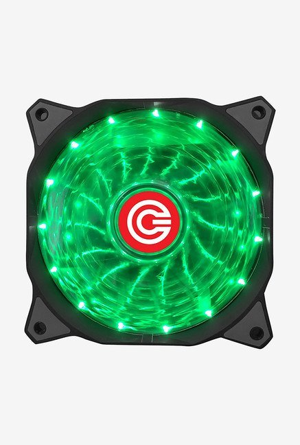 Circle CG 16XG 12 V Gaming LED Fan (Black)