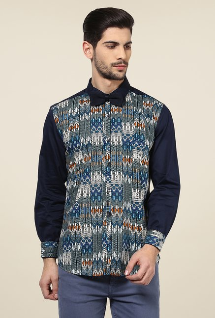 Yepme Multicolor Curt Printed Cotton Party Shirt