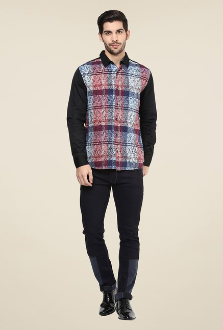 Yepme Multicolor Curt Printed Party Shirt