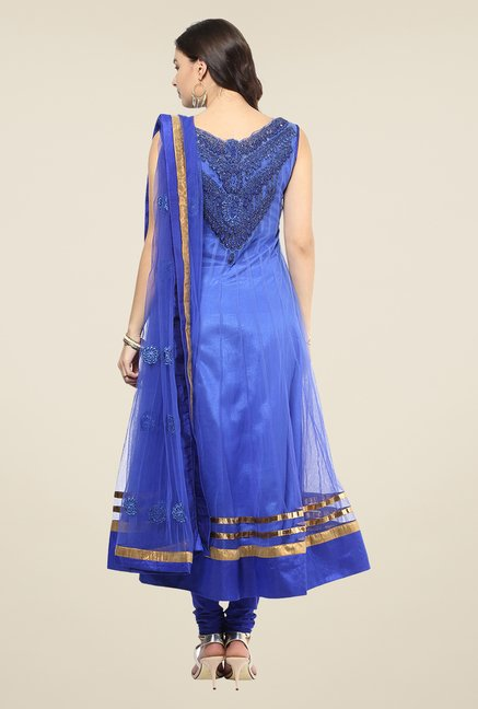 Yepme Mealany Blue Salwar Suit Set