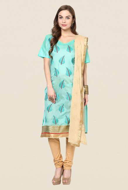 Yepme Sea Green Alekto Salwar Suit Set
