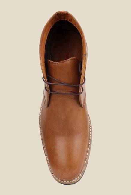 Red Tape Tan Chukka Shoes