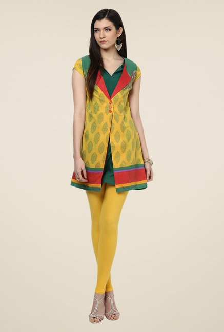 Yepme Reveri Yellow Salwar Suit Set