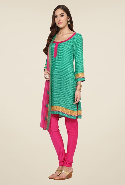 Yepme Green Hyna Salwar Suit Set