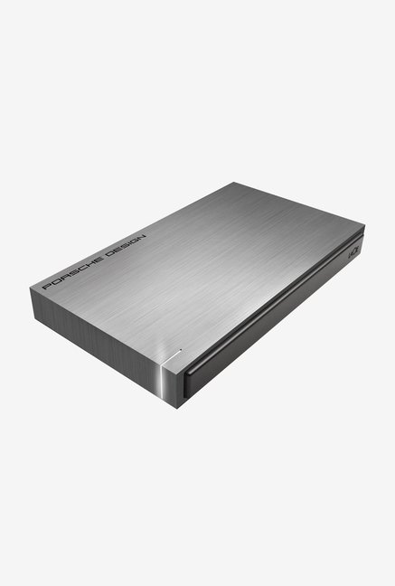 Lacie 1 TB External Hard Disk (Grey)