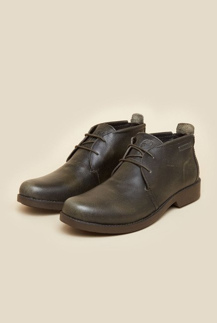 Buckaroo Portillo Olive Shoes