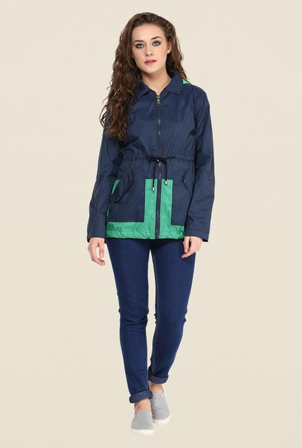 Yepme Blue Jullian Long Jacket