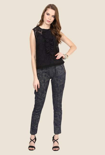 Yepme Electra Blue Party Jeggings