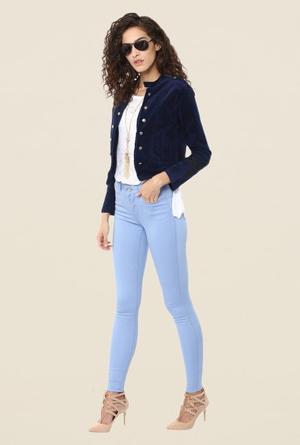 Yepme Blue Ryana Party Jacket