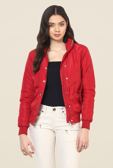 Yepme Red Sandra Party Jacket