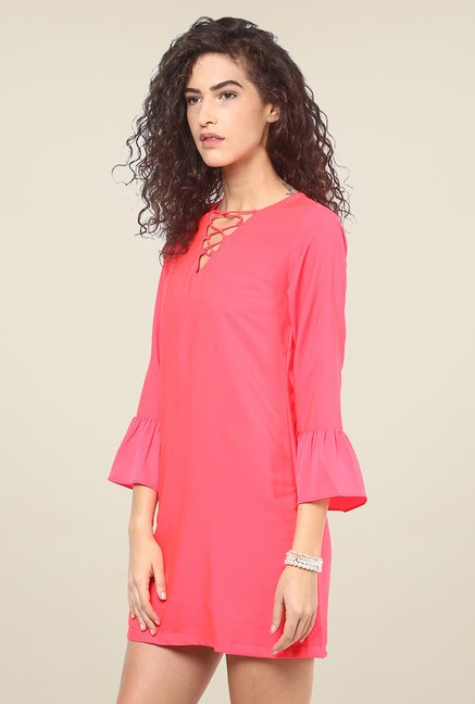 Yepme Marcie Pink Shift Dress