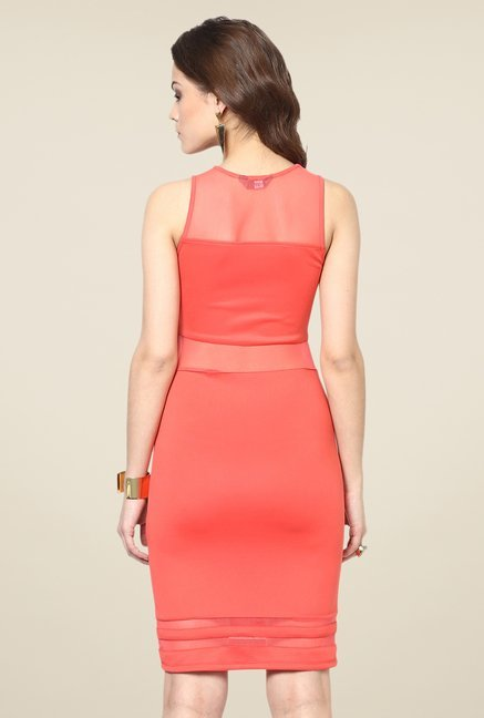 Yepme Olivia Coral Party Dress