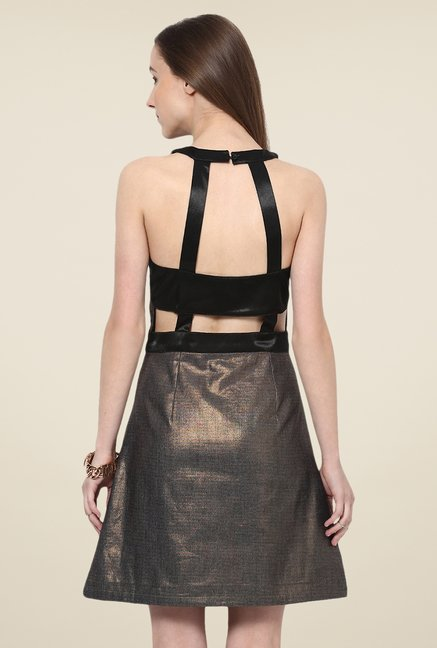 Yepme Enya Copper Party Dress