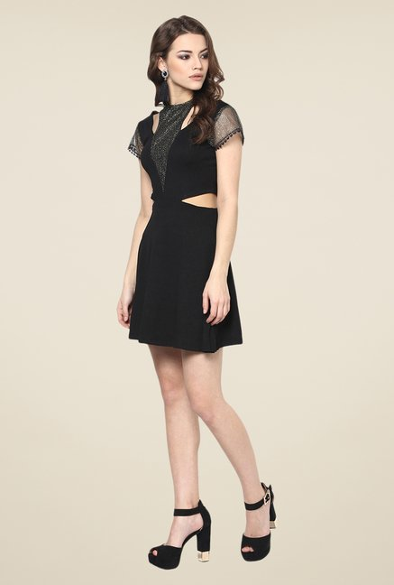 Yepme Marion Black Party Dress