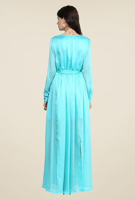 Yepme Wendy Turquoise Maxi Dress