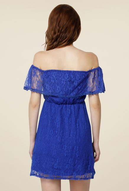 Yepme June Blue Lace Dress