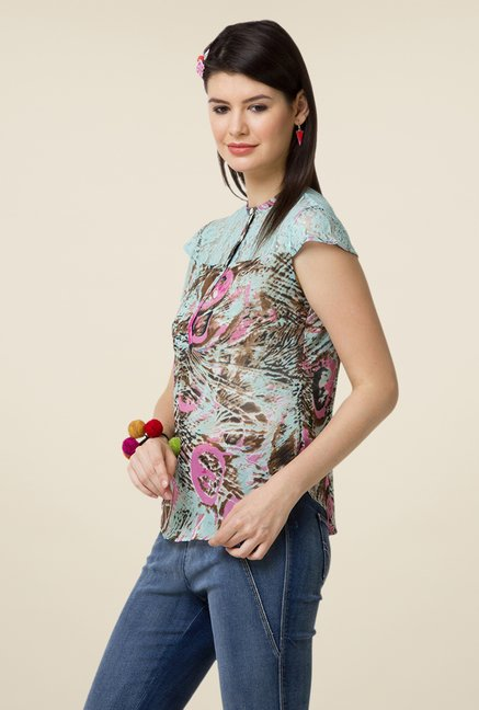 Yepme Multicolor Sisily Lace Top
