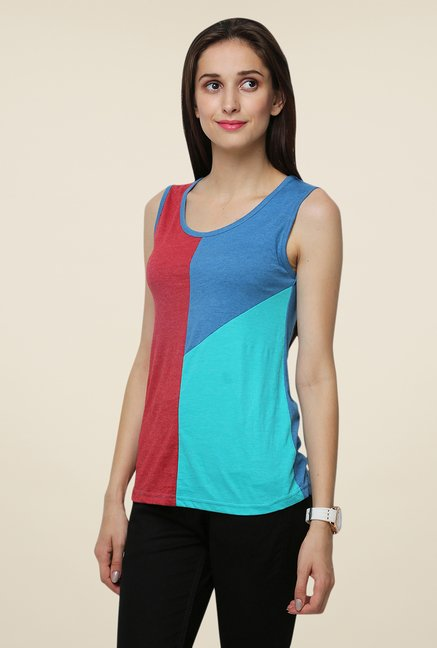Yepme Multicolor Sleeveless Adelina Top