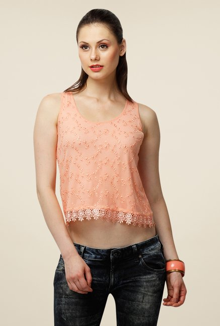 Yepme Peach Ember Short Top