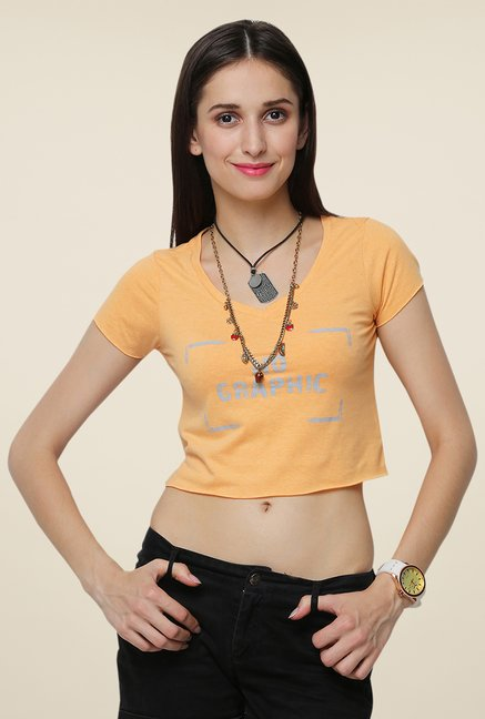 Yepme Orange Carmela Premium Top