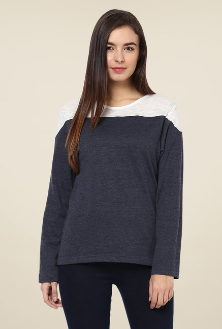 Yepme Grey Louisa Solid Top