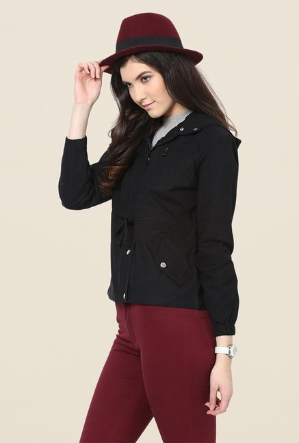 Yepme Black Ellie Full-sleeved Jacket