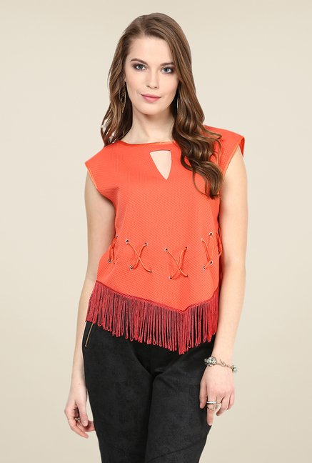 Yepme Coral Sheryl Party Top
