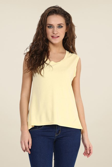 Yepme Yellow Antonia Premium Top