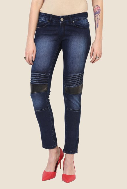Yepme Blue Fiora Premium Light Wash Denim Jeans