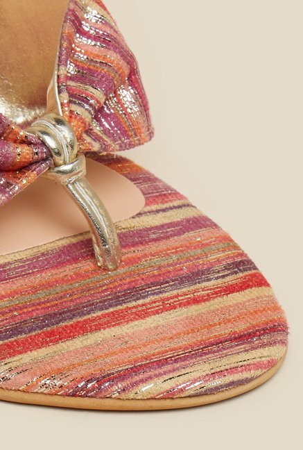 Inc.5 Multicolour Kitten Sandals