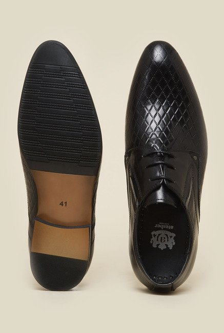 Atesber by Inc.5 Black Derby Shoes