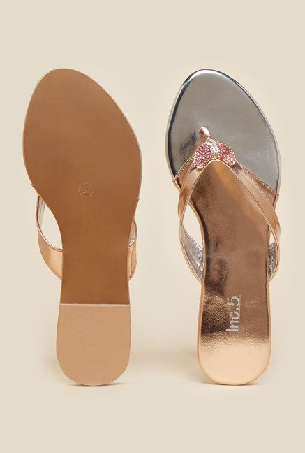 Inc.5 Copper Thong Sandals