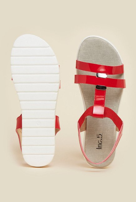 Inc.5 Red Sling Back Sandals