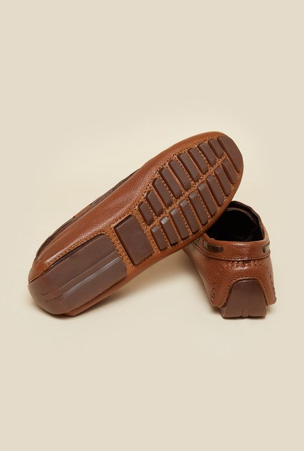 Privo by Inc.5 Tan Leather Boat Shoes