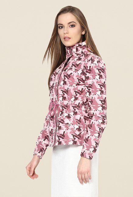 Yepme Pink Ellie Full-sleeved Jacket