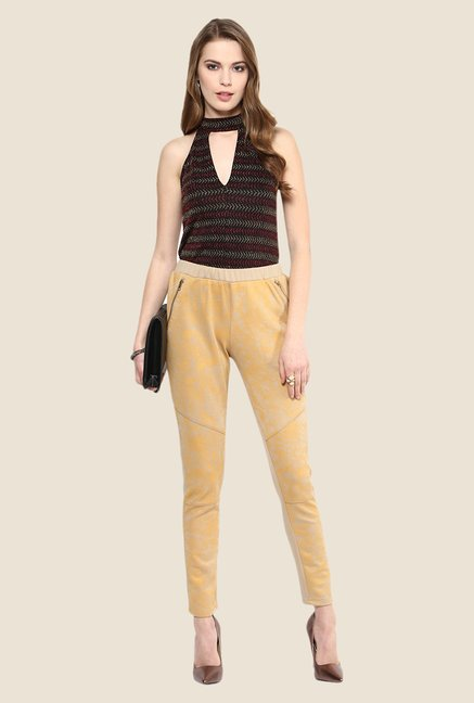 Yepme Electra Beige Party Jeggings