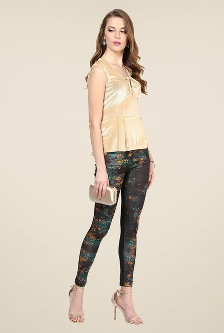 Yepme Ellise Multicolor Party Leggings