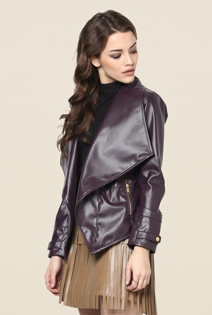 Yepme Wine Kristie Party Jacket